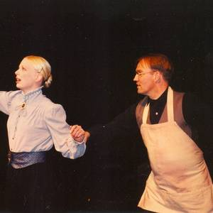 Lori Jean Nichols and Malcolm Tulip in the University of Michigan production of Orchidelirum, Ann Arbor, 2004.