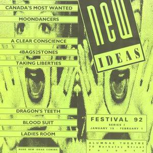 Taking Liberties - brochure for the New Ideas Festival radio production