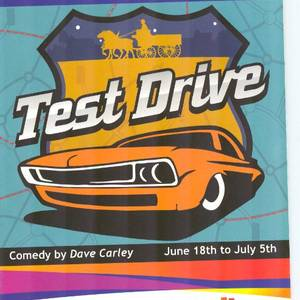 The programme and poster design for Test Drive, Lighthouse Festival 2014.