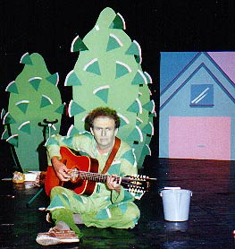 Tim Rowat (Hedge) in Peterborough Theatre Guild production.